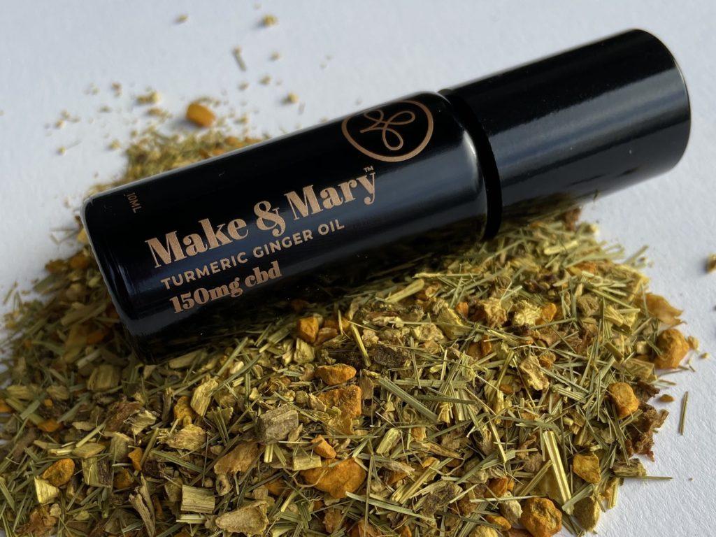 Make & Mary Turmeric Ginger CBD Oil