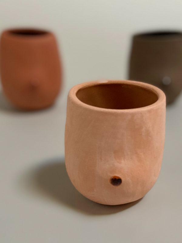 Boob Planter Cup